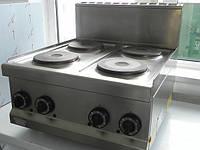 Плита электрическая 4-х комфорная настольная 654Е б/у