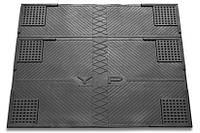 Коврик противовибрационный для стиральной машины резиновый (55х62) 6 положений для ножек (К-15)