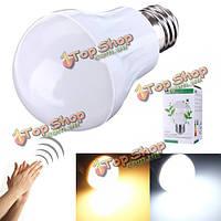 Е27 3вт 5730smd LED индукционные лампы голос и свет управления 110-220В