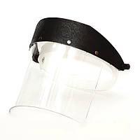 Щиток защитный лицевой НБТ удлинённый (толщина 3мм)