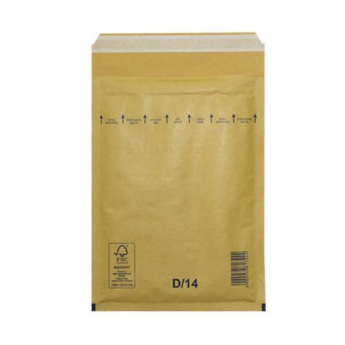 Пакеты (конверты) S4 (180х265 мм) СКЛ с воздушным слоем (коричневые)