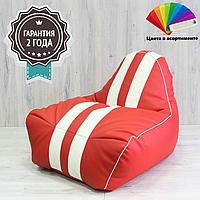 Кресло-Мешок Sport (ткань: кожзам) Мох, Амарнт