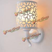 Минималистский цветок высекая настенный светильник для внутреннего освещения