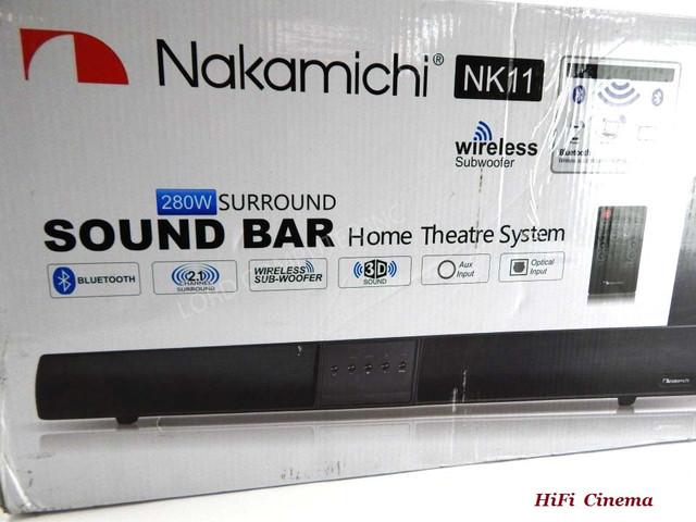 Nakamichi NK11 Sound Bar in box саундбар в коробке HiFi Cinema
