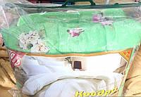 Полуторное меховое одеяло