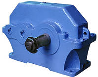 Редуктор цилиндрический горизонтальный двухступенчатый  1Ц2У-160-40
