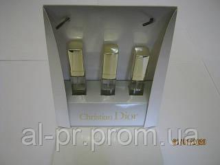 Подарочный женский набор Christian Dior 3 по 15 мл