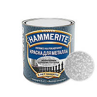 Краска Hammerite (Польша) молотковая серая 2.5л. Арт. AD-80.003.01