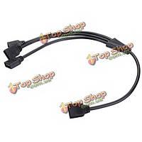 4-контактный 1 до 3 гибкие LED соединительный кабель-разветвитель для RGB полосы света