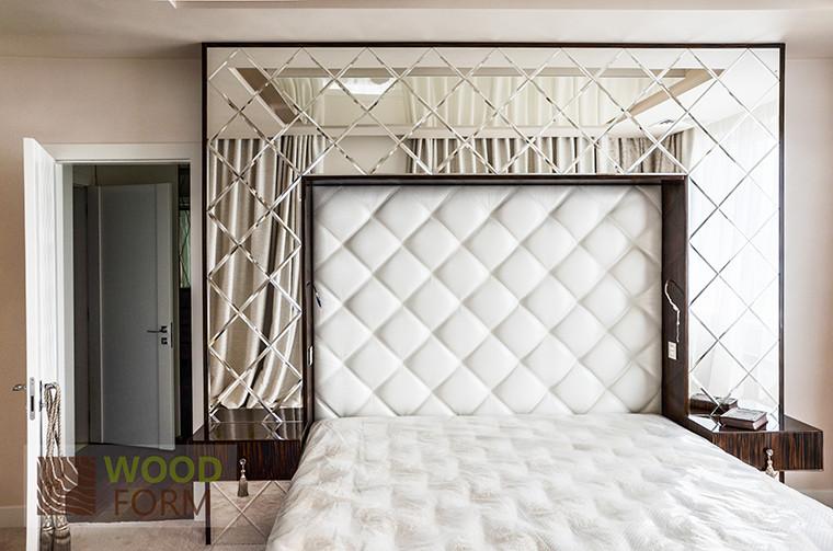 Мебель в спальню - высокий глянец