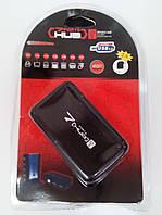 Хаб USB 2.0 на 7 портов + адаптер