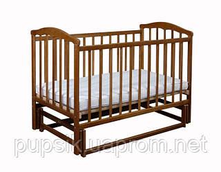 Кроватка детская Чайка на маятнике, Ласка-М