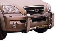 Защитная дуга переднего бампера кенгурятник Kia Sorento (2003 - 2009)