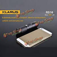 Кларус rs16 ХР-л 380lm нить 6-режим 16340 перезаряжаемые одг LED фонарик