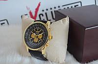 """Мужские часы """"Breitling Chronometre Navitimer"""" Black/Gold/Black, фото 1"""
