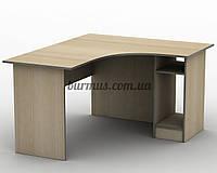 Угловой письменный стол  СПУ-2 ,120*120, дуб молочный
