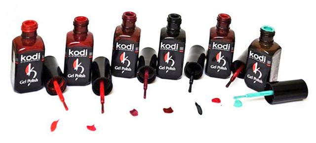 Гель-лаки Kodi Professional Crystal, 8 мл (витражные)