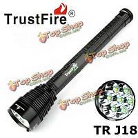 TrustFire J18 7x хт-t6 45w л 8000lumens LED фонарик 18650/26650