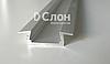 Алюминиевый тонкий профиль для LED лент (врезной)