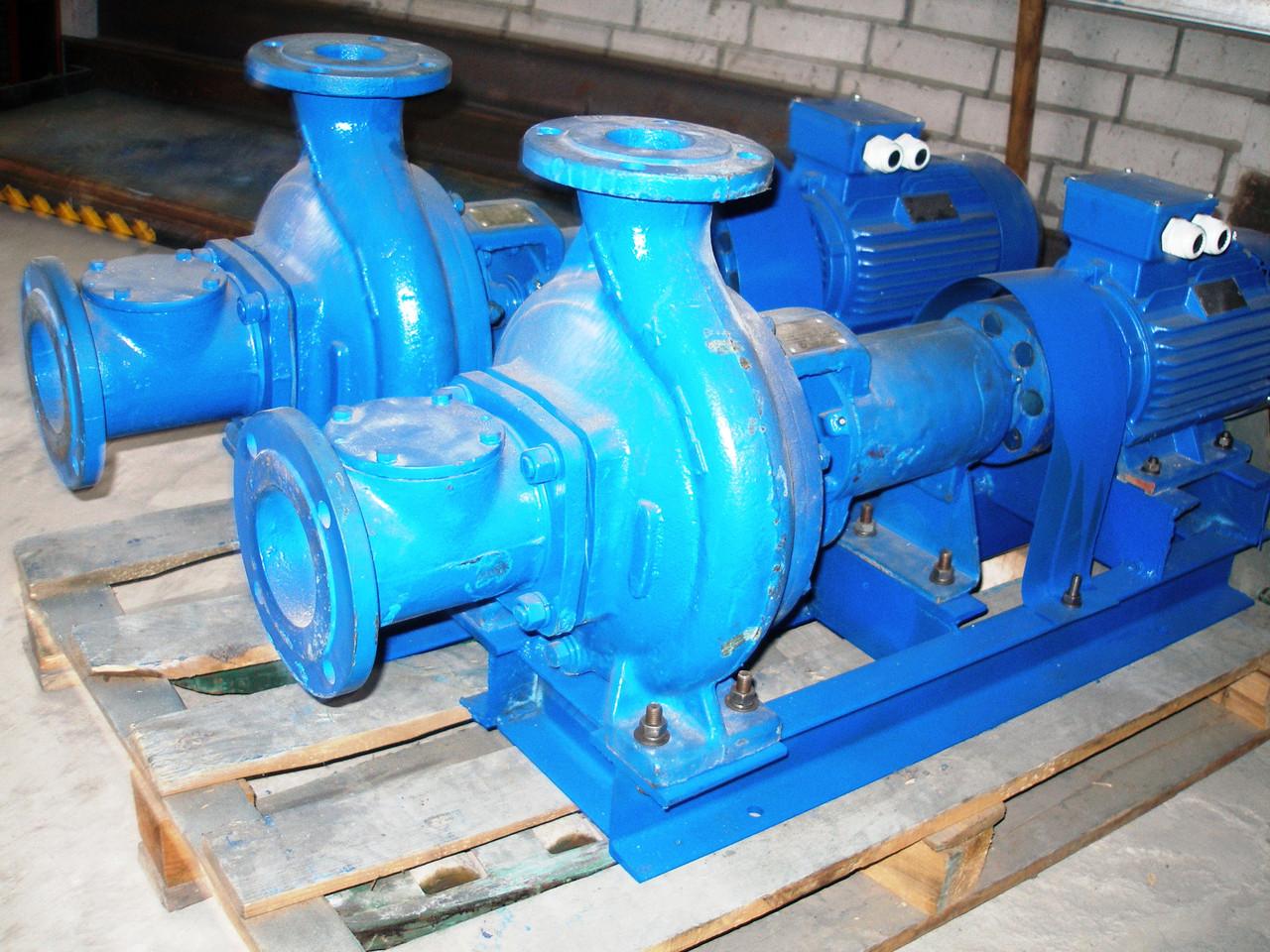 Насос фекальный СМ 80-50-200/4 с эл.двиг. 4 кВт/1500 об.мин