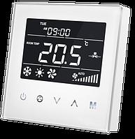 Термостат для фанкойла Z-Wave настенный (2 трубы) MCO Home  — MCOEMH8-FC, фото 1