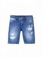 Португальский бренд, джинсовые шорты, с дырками и потертостями, TIFFOSI, Португалия