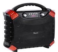 Колонка переносная активная Quer  MP3 Bluetooth FM функция Караоке, фото 1