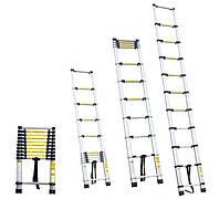 Лестница телескопическая 10ступенек 3.2м Sigma 5130101