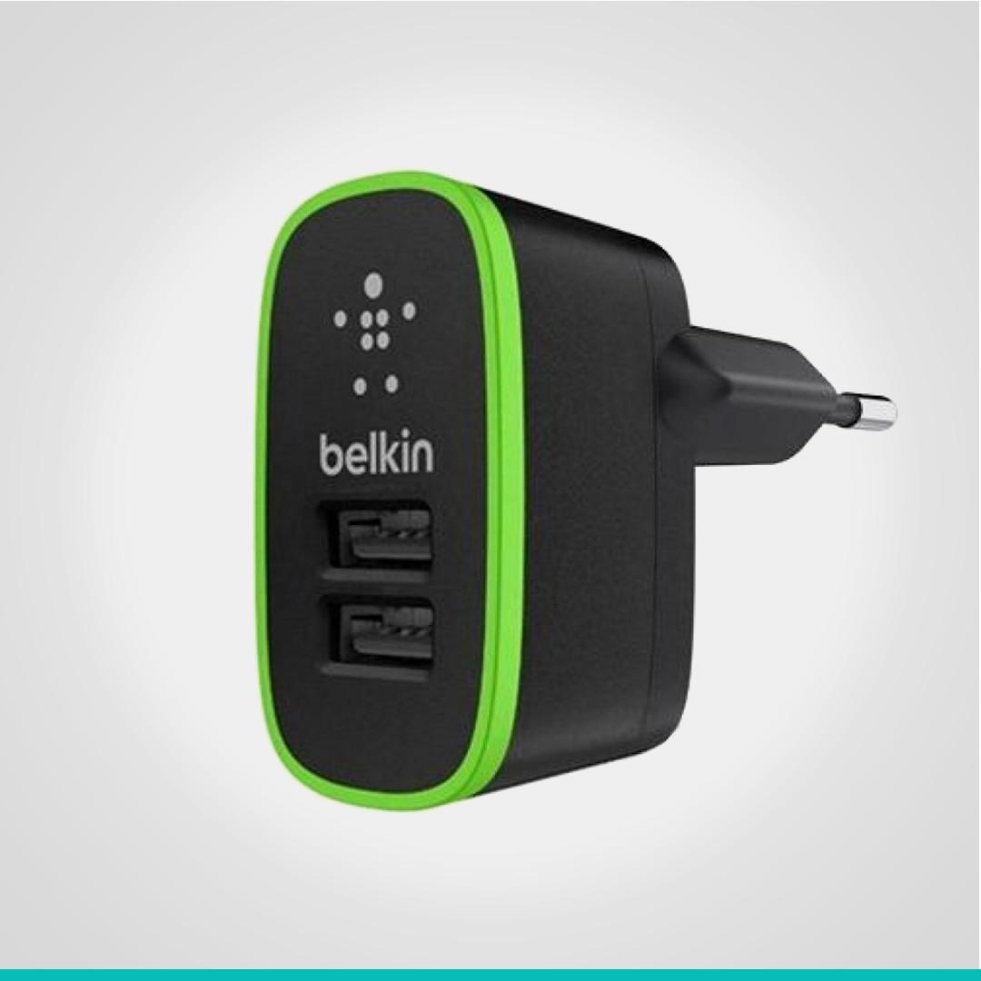 Зарядное устройство Belkin 2 USB-порта