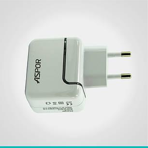 СЗУ Aspor A818 на 1 USB порт, фото 2