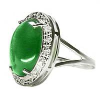 Женское серебряное кольцо Памела.