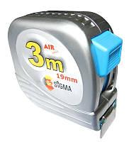 Рулетка полотно с нейлоновым покрытием 3м*19мм Sigma NX3019z