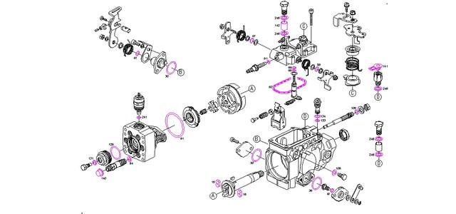 Ремкомплекты насосов VE-тип