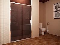 Душевая дверь Koller Pool Waterfall Line FAP12X профиль хром, стекло прозрачное