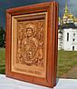 Икона деревянная резная Знамение Пресвятой Богородицы  (Божией Матери)