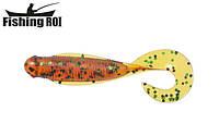 Сьедобный силикон Fishing ROI Wise Grub 75 D010