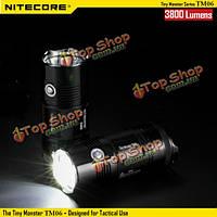 Фонарь nitecore tm06 4х Cree хм-л2 У2 3800lm тактические LED фонарик