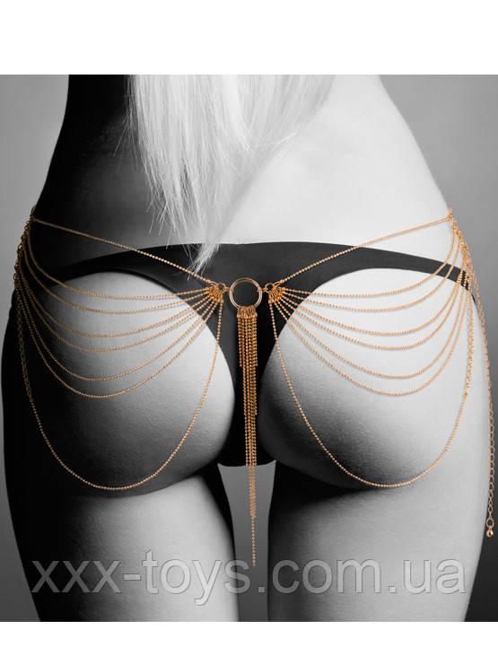 Эротические цепочки для талии или груди, Magnifique Waist jewelry- Gold, Bijoux, фото 1