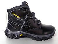 Ботинки подростковые Columbia зимние кожаные C0009