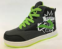 Высокие кроссовки подростковые на мальчиков ТМ ТомМ  32 35 36