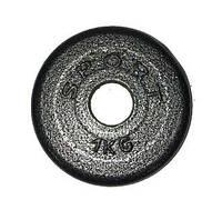 Гантельный диск 1кг (стальной)