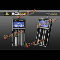XTAR vc2 зарядное устройство с ЖК-экран для 18650 26650 батареи