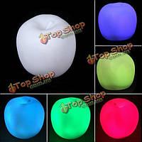 Изменение цвета яблока LED ночник Рождественская вечеринка украшения лампы