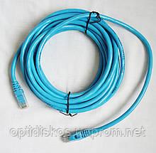 Комп'ютерний (LAN) кабель UTP - cat.6 (вита пара), 5м