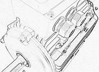 Электродвигатель асинхронный Lammers 13AA-80M-4-B3-0,75квт, лапы, 1500 об/мин