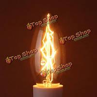 40Вт Е14 накаливания свеча античная Винтаж Эдисон лампочку 110В/220В