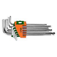 Ключи шестигранные 9шт 1,5-10мм Cr Grad 4022185