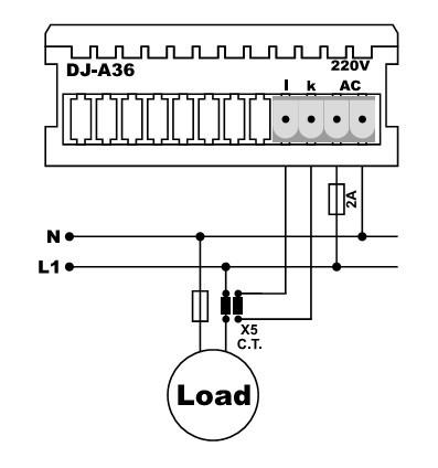 Схема подключения амперметра