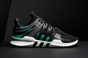 Кроссовки ADIDAS-EQT-ADV-SUPPORT-(BLACKSUB-GREEN)