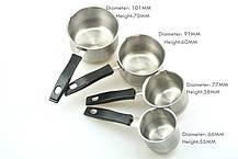 Кофейный набор (турки) Set 4 Coffee Pots, фото 3